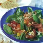 French Salad with Citrus and Spinach Dessert