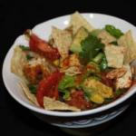 Mexican Chicken Salad to the Tortilla Chips Appetizer