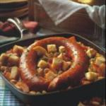 French Smoked Sausage Skillet Cassoulet Appetizer