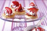 American Pikelettas With Strawberry Ricotta Cream Recipe Dinner