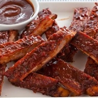American Chinese Ribs Appetizer