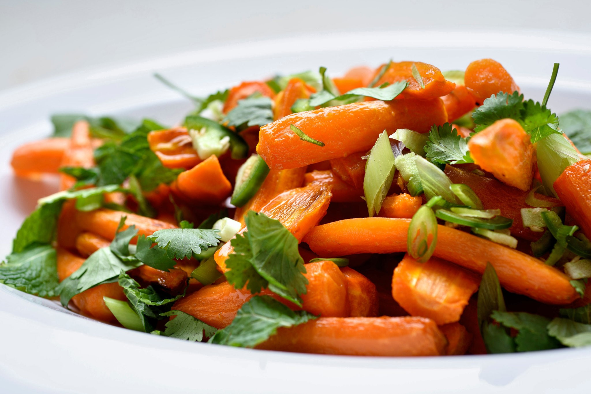 American Roasted Coconut Carrots Recipe Appetizer