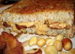 American Grilled Peanut Butter and Bacon Sandwich Dinner