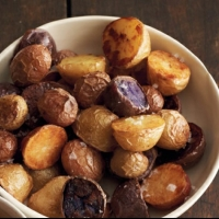Canadian Roasted Potatoes with Romesco Sauce BBQ Grill