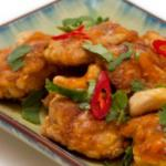 Indian South Indian Fried Chicken Appetizer