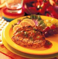American Herb Orange Pork Chops BBQ Grill