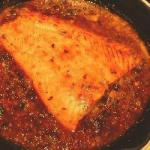 American Grilled Salmon Sweet and Sour Sauce Dessert