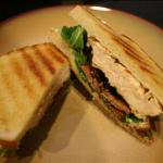 Canadian Grilled Chicken Sandwich with Pancetta Arugula and Aioli BBQ Grill