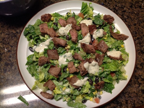 American Healthy Lite Steak Salad Dinner