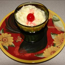 British Microwave Old Fashioned Rice Pudding Dinner