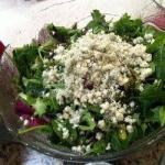 American Betabel Salad with Spinach Appetizer