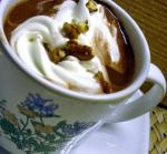 American Hot Chocolate With Mint Chips Dessert