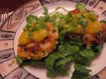 American Coconut Curry Shrimp Cakes W  Papaya Lime Sauce Dinner