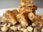 American Chocolatechunk Blondies Dessert