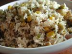 American Basmati Rice With Corn and Peas rice Cooker Dinner