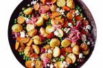 American Mixed Potato Salad With Pickled Onion Dressing Recipe Dessert