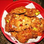 Hoo haws peanut Butter Cookies With M and m s Reese s Pieces and Peanuts recipe