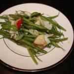 French Salad French Green Beans with Pears and Parmesan Appetizer