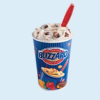 American Dairy Queen Heath Blizzard Dessert
