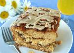 American Coffee Glazed Coffee Cake Dessert