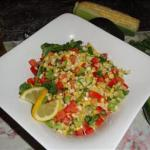American Raw Fiesta Corn Salad Appetizer