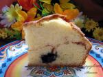 Canadian Less Pudge Blueberry Coffee Cake Dessert