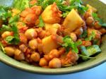 American Dal With Spiced Tomatoes and Potatoes Appetizer