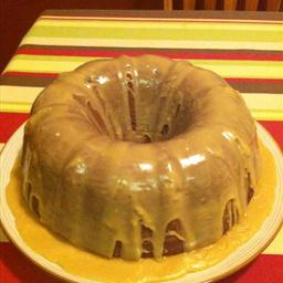 American Beer Cake with Caramel Frosting Alcohol