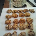 American Oatmeal Cranberry White Chocolate Cookies Dessert