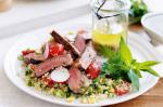 Summer Beef And Burghul Salad Recipe recipe