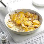 American Skillet Scalloped Potatoes Appetizer