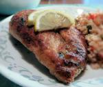 Canadian Lower Calorie Chicken Piccata Dinner