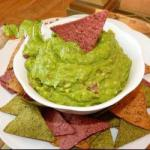 Chilean Guacamole with Green Chile Appetizer