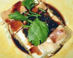 American Steamed Bean Curd With Soy Sauce Dinner