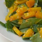 American Betabel Salad and Spinach Appetizer