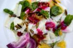 Mexican Jicama Salad With Lime Vinaigrette and Mint Cream Recipe Dessert