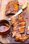 American Grilled Baby Back Ribs Recipe BBQ Grill