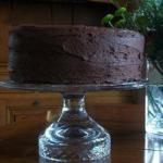 American Chocolate Cake and Beet with Chocolate Cover Dessert