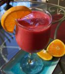 American Berry Tart Orange Smoothie Appetizer