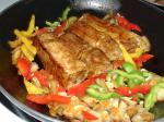 Chilean Ancho Pork Chops and Peppers Dinner