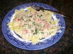American Al Lewis Spinach Fettuccine With Crab Sauce Dinner