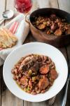Canadian Spicy Red Beans with Chicken Thighs and Andouille Recipe Dinner