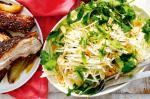 British Slowroasted Pork Belly With Pear Coleslaw Recipe Appetizer