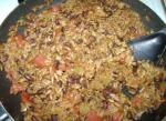 American Quick Skillet Black Beans and Rice Dinner