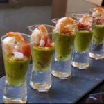 American Verrine Recipes to the Lawyer and the Shrimp Appetizer