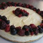 American Cheesecake Raspberry Without Cooking Dessert