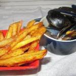 American Mussels with a White Wine Sauce Dinner