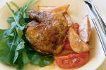 Moroccan Moroccan Spiced Chicken With Lemon Potatoes And Tomatoes Recipe Appetizer
