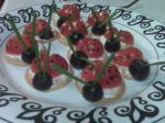 American Ladybug Appetizers Appetizer