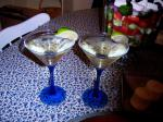 Canadian Lime and Elderflower Martini Appetizer